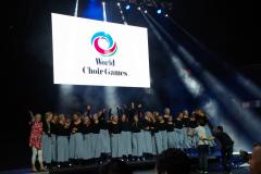"""Aarhus Pigekor vinder """"Female Choir""""-kategorien ved World CHoir Games, Tshwane Sydafrika 2018"""